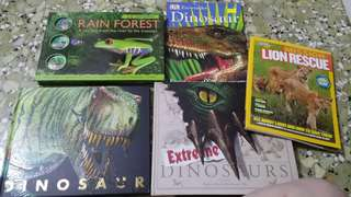 3D Dinosaur Pull Out Books