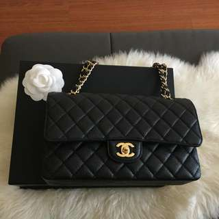 Chanel Caviar Medium Classic Flap