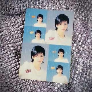 梁詠琪 Gigi Leung 絕版 Yes Card Yes咭 Yes卡 明星相 明星照片 回憶 珍藏 偶像  0553(PS)