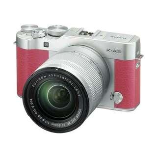 Fujifilm X-A3 Pink di kredit aja sis