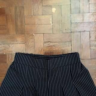 Pinstriped Culottes