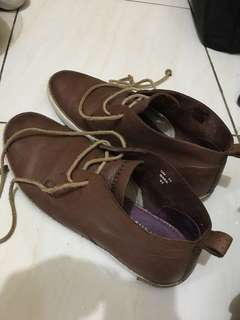 Reprice!! Sepatu Blackstone Brown Leather