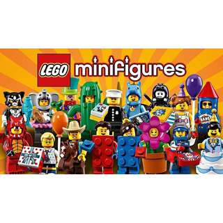 Lego minifigure Series 18 (Total of 16 minifigure not included Policeman)