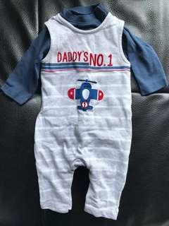 BNWOT Baby Romper Set Mothercare