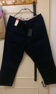 🚚 Nano universe x Dickies 深藍錐形工作褲