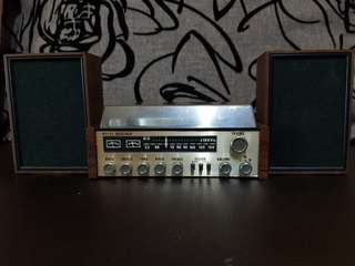 Antique hifi set... For display over 60 years