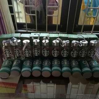 Starbucks Botol Unik Free Pouch