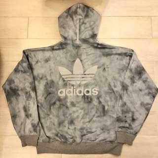 99% new Adidas Originals oversized camo track suit hoodie L