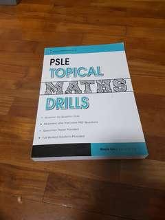 PSLE topical maths drills