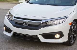 Chrome original front grill civic 2018 March