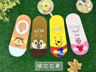 🚚 ⭕️94狂⭕️韓國襪迪士尼系列隱形襪現貨快速出貨