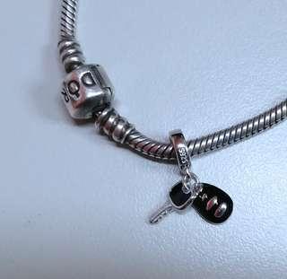 Car Keys Charm - Pandora-Fit Authentic Silver
