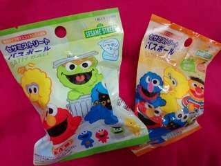 購自日本🆕 Cookie Monster公仔浴鹽球