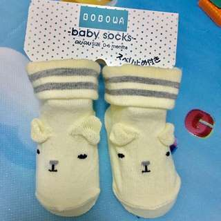 Baby socks for 0-6 months old