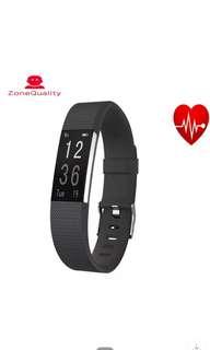 新款ID115plusHR智能手環運動計步手環健康監測信息推送時尚