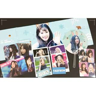 TAEYEON 2018 Cheering Slogan Set
