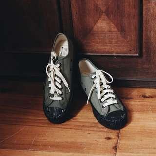🚚 餅乾鞋 軍綠 古著 Rolling on excelsior a room model groovy vintage shoes  復古