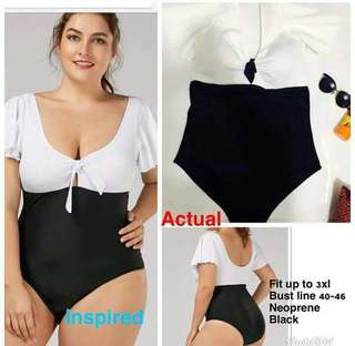 One Piece Plus Size Swimsuit