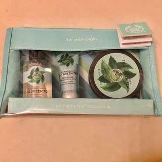 Body Shop Gift Set Fuji Green Apple