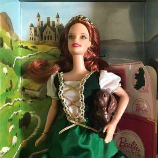 Ireland Dolls of the World Barbie Collection