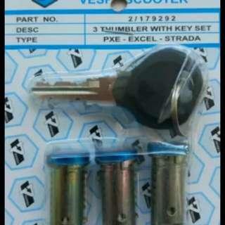 Vespa px key set