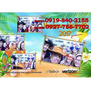 Photobooth in any areas in Rizal area or Metro Manila