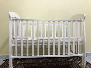 Baby Cot (NEVER USED!)