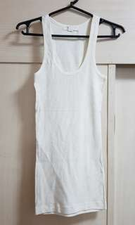 Forever 21 White Tank Top (New)