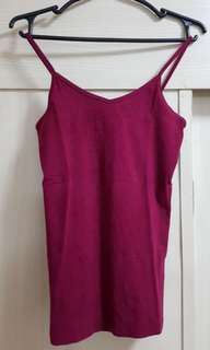 Forever 21 Red V-Neck Cami