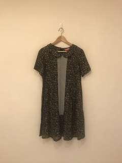 🚚 FFFF日本素材小碎花洋裝