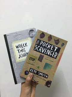Wreck This Journal & The Pocket Scavenger