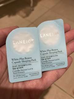 Laneige Capsule Sleeping Pack