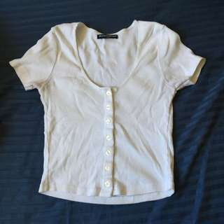 Brandy Melville button up top