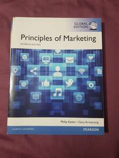 Principles of Marketing Pearson