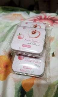 Peach Yoghurt with collagen Sugar Free