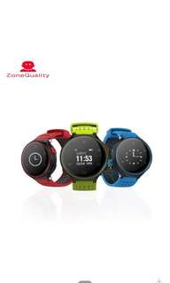 智能手環X2圓屏運動計步心率血壓血氧健康監測smart band藍牙手環