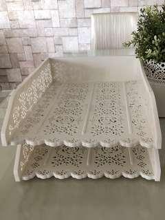 Pretty A4 Paper Trays