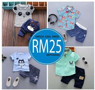 Baby Clothing Set - 2 pieces