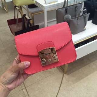 Furla Metropolis mini bag pink