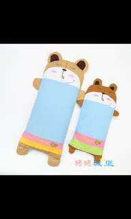 Child baby buckwheat +pillow case19cmx38cm