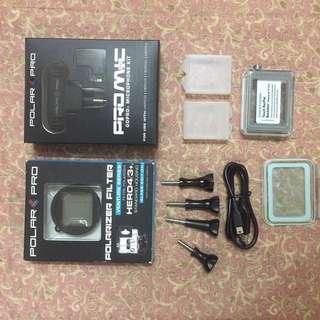 GoPro Hero 3/4 accesories