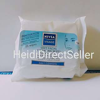 NIVEA FACIAL CLEANSING WIPES
