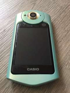 🚚 CASIO TR60 湖水綠美品 附電池兩顆