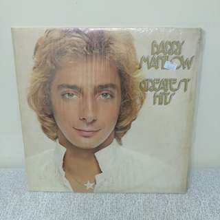 78 年 Barry Manilow Lp 精選孖碟