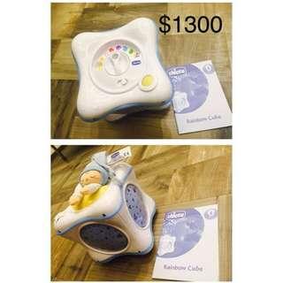 Chicco 彩虹燈盒 9.9 成新 小朋友睡覺燈,原價 $1300 9.9成新 用過一次