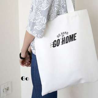 Go Canvas Tote Bag