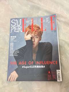 EXO OH SEHUN SUPERELLE FALL 2017