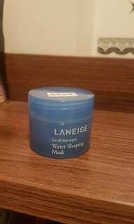 Laneige Water Sleeping Mask 睡眠面膜體驗裝15ml