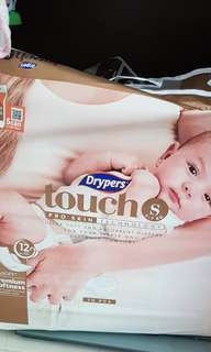 Drypers Touch S Size (1 N HALF PACKS)