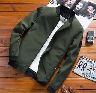 Men Bomber Jacket NEW